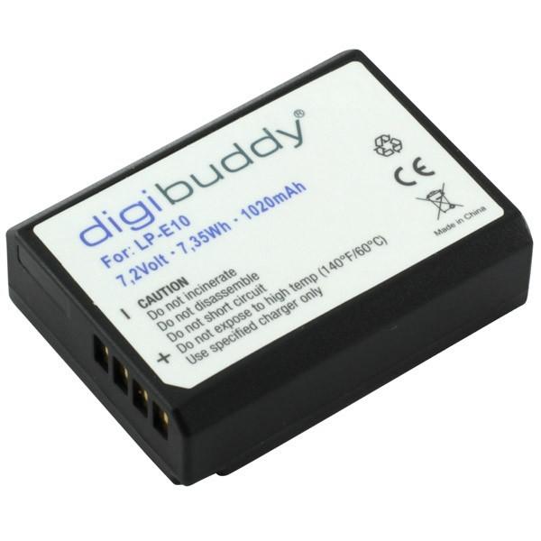 Original Digibuddy Bateria p. Canon EOS 2000D
